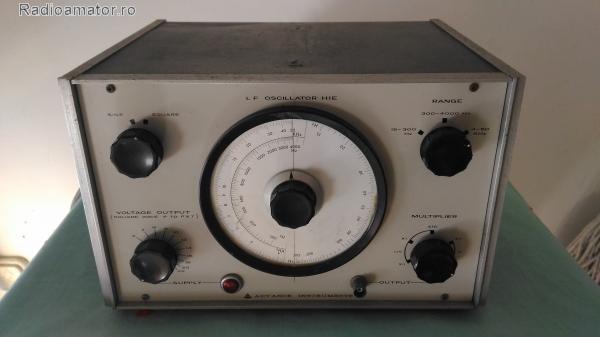 Vand #V-105339 - LF Oscilator H1E  - yo9ina.ro