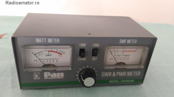 Vand #V-105340 - POWER & SWR-meter  - yo9ina.ro