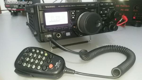 Vand #V-108846 - YAESU FT 897 D  - yo9ina.ro