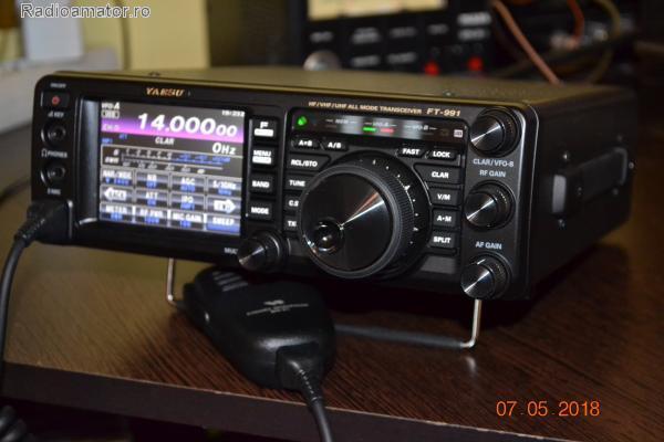Vand #V-112032 - YAESU FT-991 HF/VHF/UHF  - yo9ina.ro