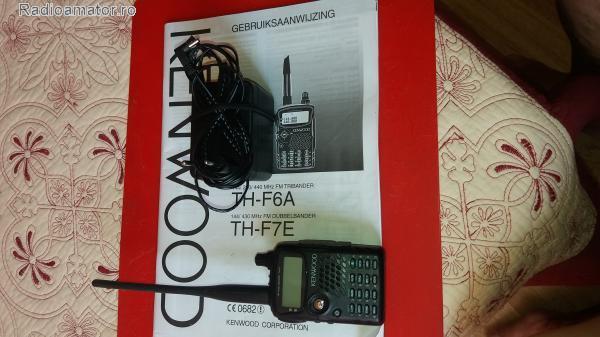 Vand #V-119689 - Transceiver Statie Radio Kenwood TH-F7E  - yo9ina.ro