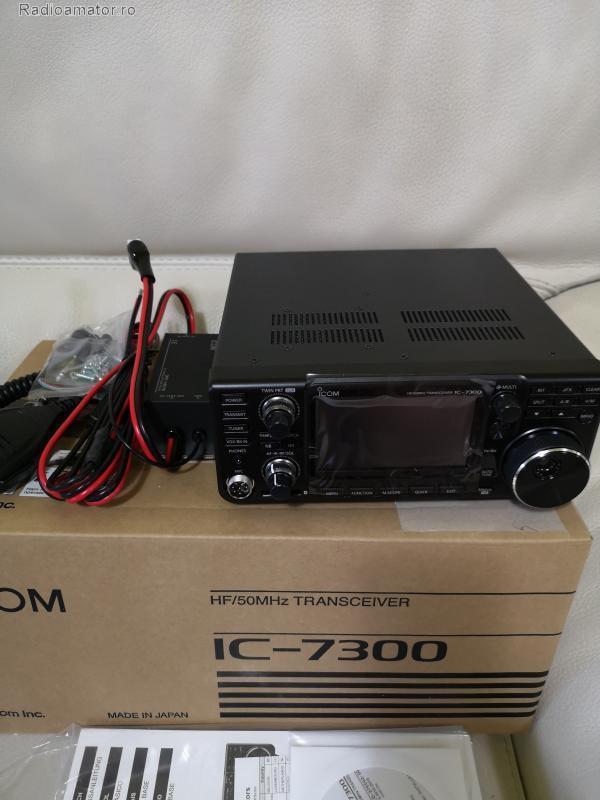 Vand #V-134625 - ICOM 7300 HF+50+70 MHz 100W   - yo9ina.ro