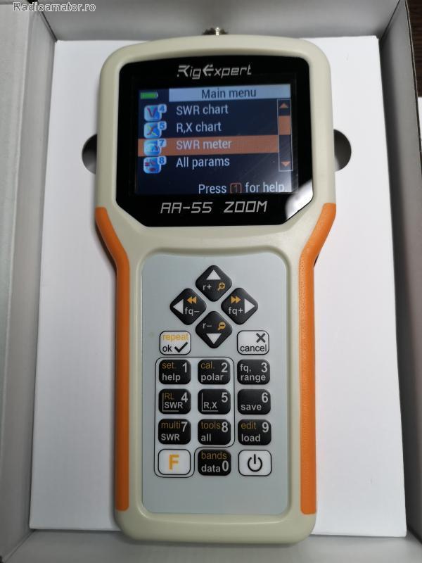 Vand #V-134627 - Analizor RIGEXPERT AA-55 ZOOM  - yo9ina.ro