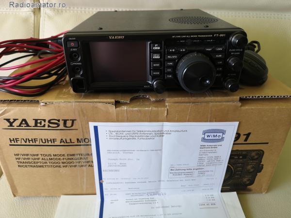 Vand #V-134628 - YAESU FT-991 HF/VHF/UHF 100W   - yo9ina.ro