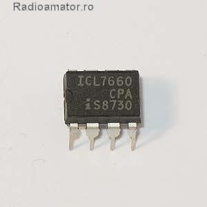 Vand #V-137716 - Circuit integrat  ICL7660 volt  - yo9ina.ro