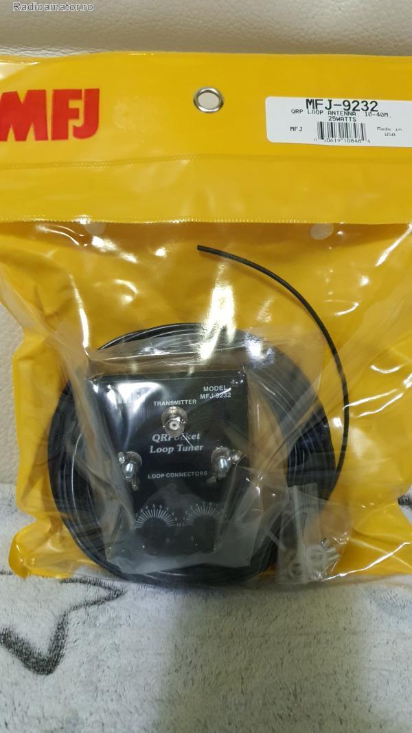 Vand #V-166473 - Antena loop MFJ-9232 QRP 10-40  - yo9ina.ro