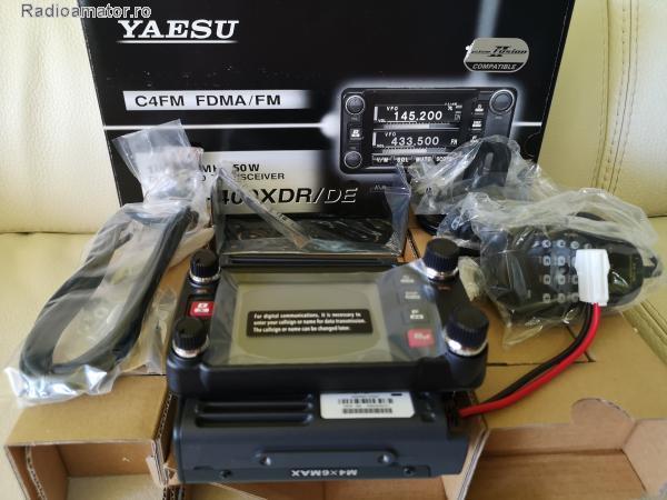 Vand #V-166474 - YAESU FTM-400XDE VHF/UHF C4FM  - yo9ina.ro