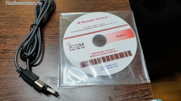 Vand #V-168045 - Soft control ICOM RS-BA1 V2   - yo9ina.ro