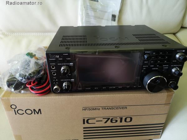 Vand #V-168054 - ICOM 7610 HF/50 MHz  - yo9ina.ro