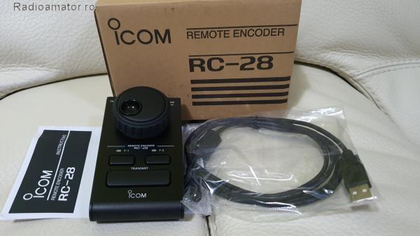 Vand #V-169972 - ICOM RC-28 V2 remote encoder  - yo9ina.ro